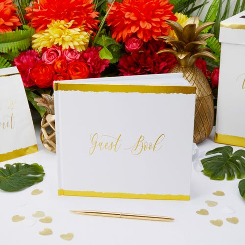 Dipped In Gold - Guest Book