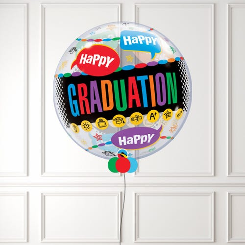 Happy Graduation Bubble Balloon