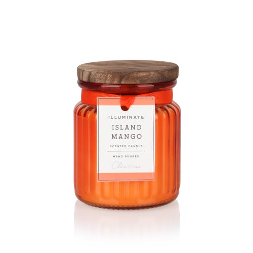 7oz Island Mango Illuminate Small Jar Candle