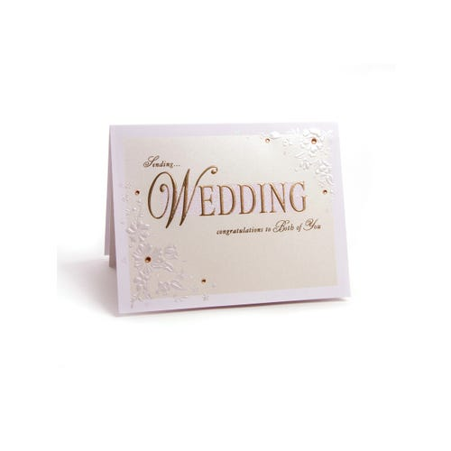 Indigo Clinton Collection Wedding Card