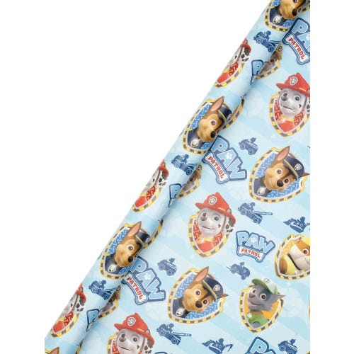 2m x 69cm Paw Patrol Wrapping Paper Roll