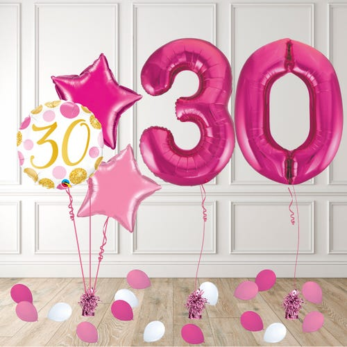 Pink Age 30 Birthday Package