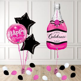 Bubbly Pink Balloon Package