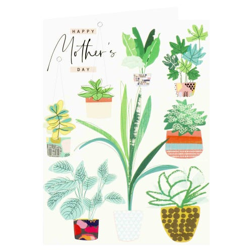 Plants Happy Mother's Day Card