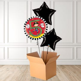 Age 5 Pirate Foil Bouquet