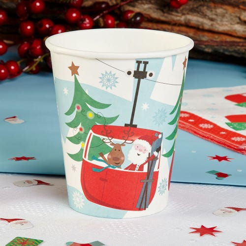 Christmas Fun Cups - 8 Pack